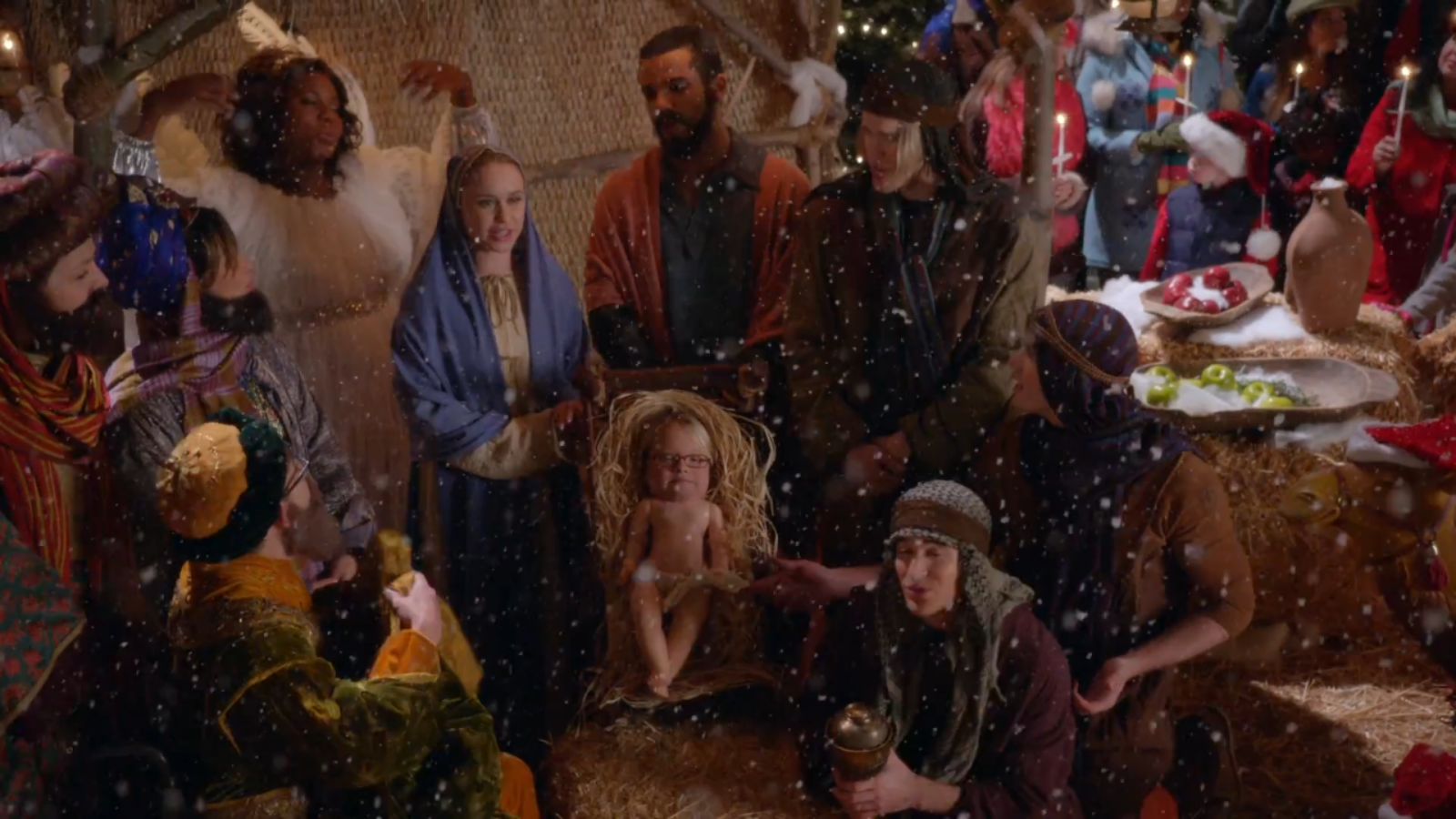 previously unaired christmas glee tv show wiki fandom powered by wikia - Glee Previously Unaired Christmas