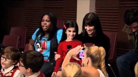 Glee meet the mini-me's sub ita