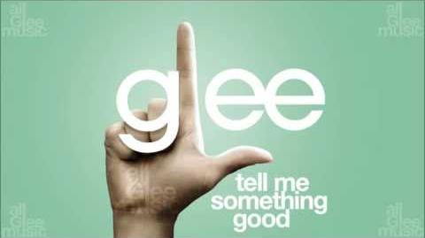 Tell Me Something Good Glee HD FULL STUDIO