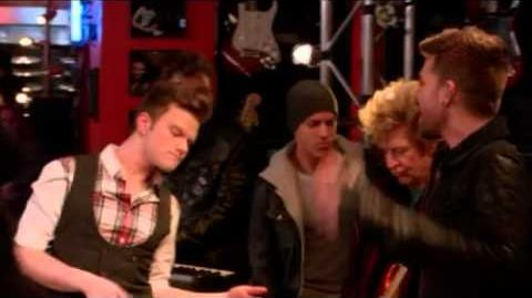 GLEE- Rockstar (Full Performance) (Official Music Video) HD