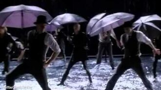 GLEE - Singing In The Rain Umbrella (Full Performance) (Official Music Video)-1