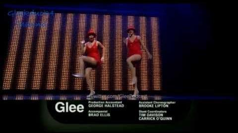 GLEE performing