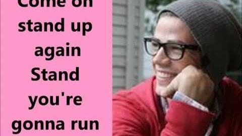 Glee-Stand lyrics-0