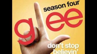 Glee - Don't Stop Believin' (Rachel Solo) (DOWNLOAD MP3+LYRICS)