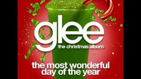 Glee - The Most Wonderful Day Of The Year (Acapella)