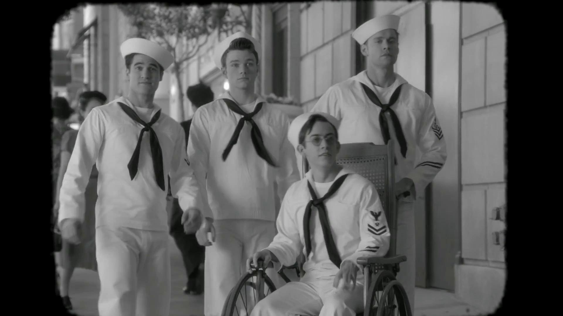 Glee STD Newsreel from Tested