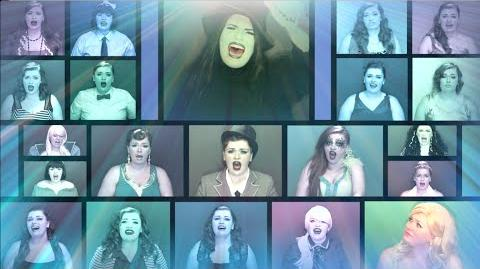 """One Woman A Cappella Wicked Medley"" by @heathertraska"