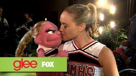 """Behind The Scenes """"Puppet Master"""" GLEE"""