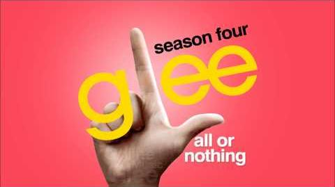 All or Nothing - Glee HD FULL STUDIO