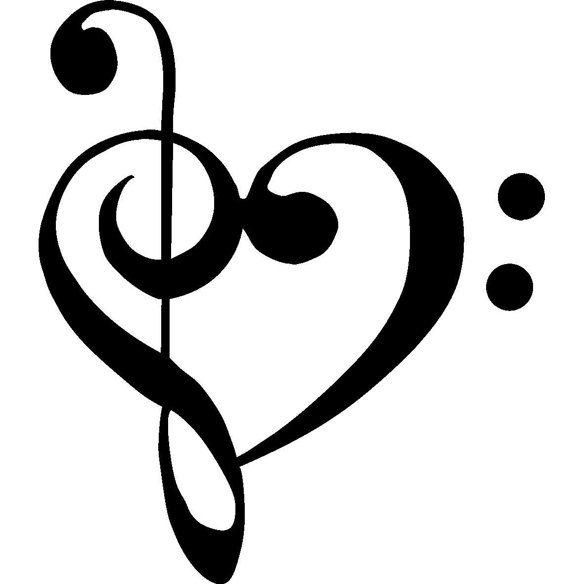 image bass clef treble clef heart jpg glee tv show wiki fandom rh glee wikia com treble clef heartbeat tattoo treble clef heart design