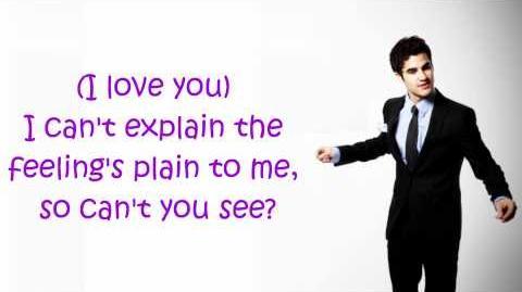 Glee- Silly Love Songs (Lyrics)-1