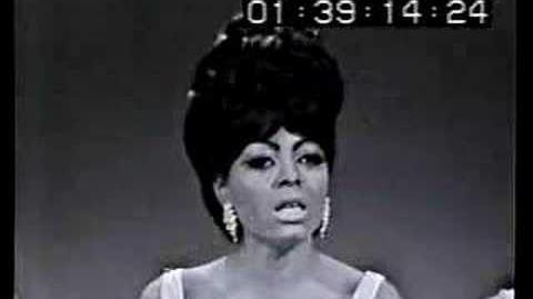 """The Supremes At Hollywood Palace """"Stop In The Name Of Love"""""""