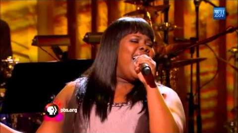 "Amber Riley sings ""Living For The City"" at The Motown Sound - In Performance at the White House"