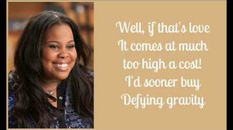 Glee Defying gravity season 5 lyrics