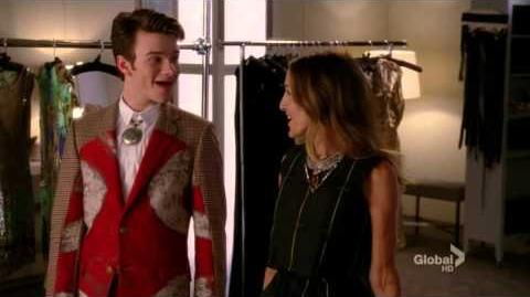 GLEE - The Way You Look Tonight - You're Never Fully Dressed Without A Smile