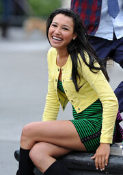 Naya Rivera Glee Continues Film New York cVVmdoKN3Ljl