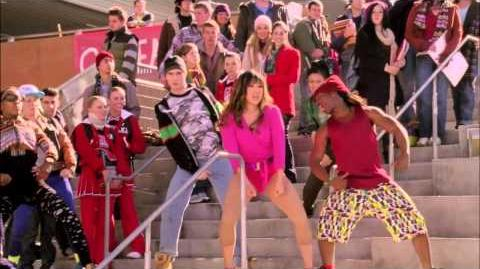"Full Performance of ""Hung Up"" from ""Diva"" GLEE"