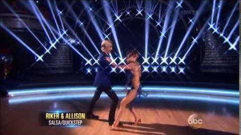 Riker Lynch&Allison Holker - Week 10 - Fusion challenge