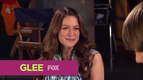 GLEE FOX Lounge Melissa Benoist & Blake Jenner Rapid Fire-0