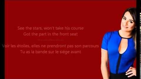 Glee - Pumpin' blood Paroles & Traduction