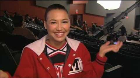"Naya Rivera ""Michael"" Interview"