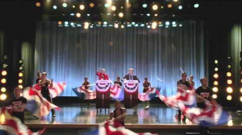 "GLEE - Full Performance of ""Celebrity Skin"""