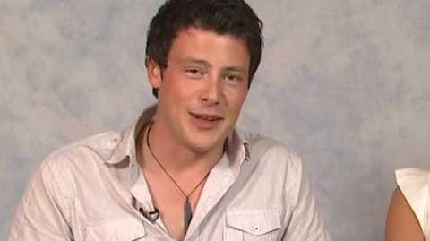 GLEE Auditions Cory Monteith on His Singing Shower Scene
