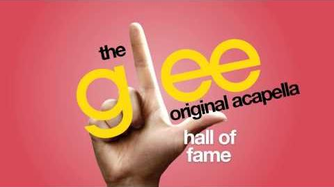 Glee - Hall Of Fame - Acapella Version
