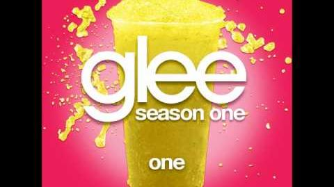 Glee - One (DOWNLOAD MP3 LYRICS)