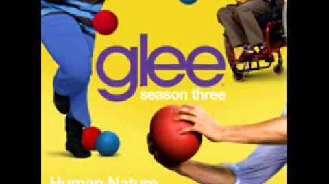 Glee - Human Nature Full