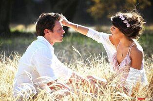 Lea & Jon shooting Teen Vogue 2014 4