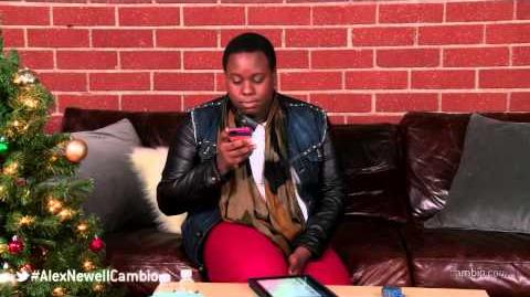 "Glee's ""Unique"" Alex Newell - Cambio Couch Sesh"