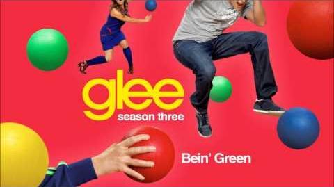 Bein' Green - Glee HD Full Studio