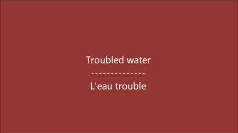 Glee - Bridge over troubled water Paroles & Traduction
