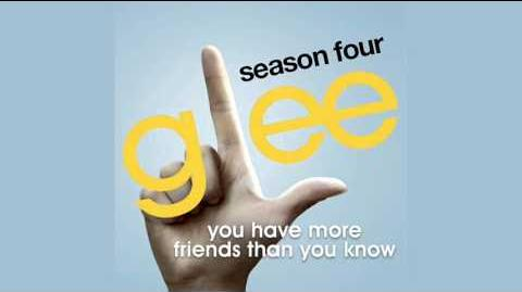 Glee Cast - You Have More Friends Than You Know (Song Demo)