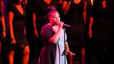 "Trevor Live - Amber Riley performs ""Ain't No Way"" (w intro by Naya Rivera & Brant Daugherty)"