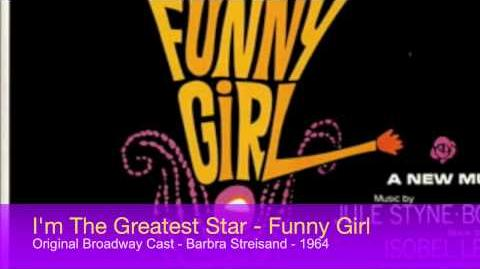 1964 - I'm The Greatest Star - Funny Girl - Broadway - Barbra Stresiand