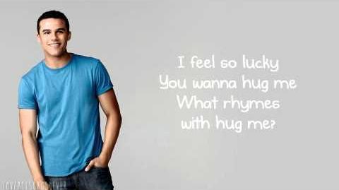 Glee - Blurred Lines (Lyrics)-0
