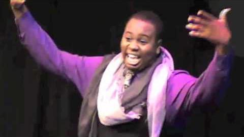 """RANDOM BLACK GIRL"" Alex Newell"