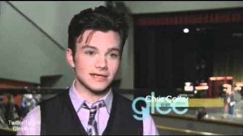 """Behind The Scenes - Glee """"New-York"""" 2x22 Season Finale"""