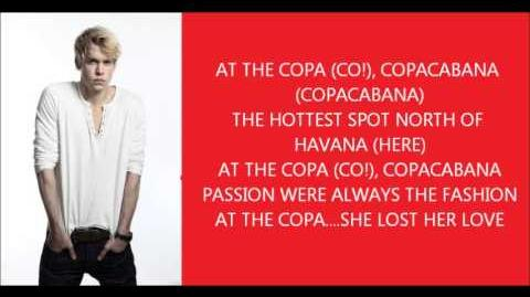 Glee - Copacabana lyrics