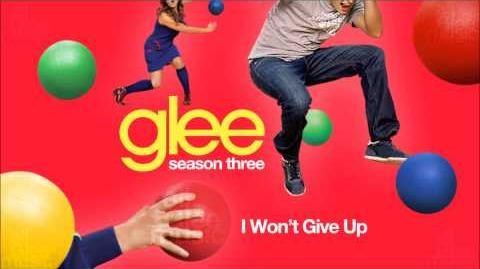 I Won't Give Up Glee HD FULL STUDIO