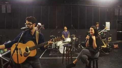 Lea Michele and Darren Criss at LM DC Tour rehearsals (May 24, 2018)