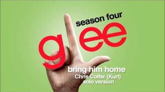 Bring Him Home (Kurt Solo Version) - Glee HD Full Studio-1