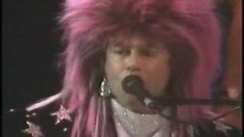 Elton John The Bitch is Back 1986