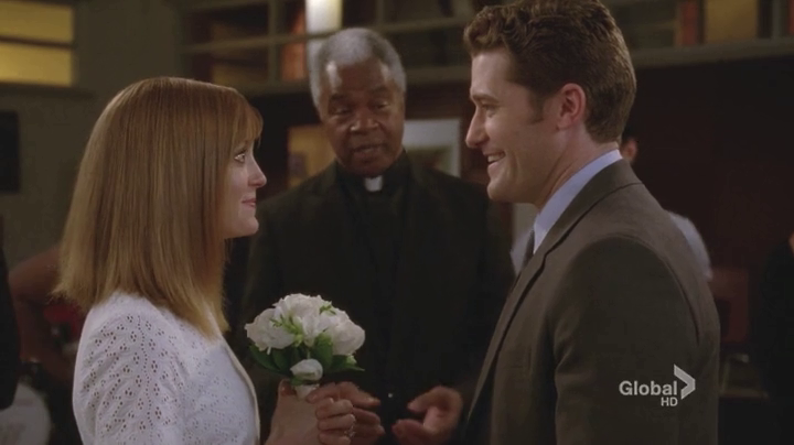After New Directions Win Regionals Emma Walks Into The Choir Room With A Minister To Tell Will That She Is Finally Ready Get Married Admitting