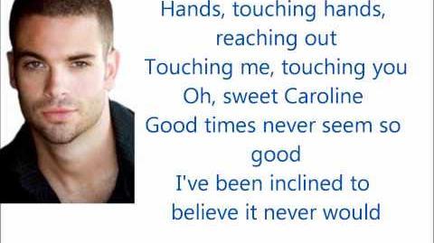 Glee Sweet Caroline Lyrics