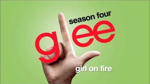 Girl On Fire - Glee HD Full Studio
