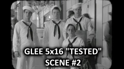 Glee Season 5 5x16 Scene 2 Tested STD's Commercial