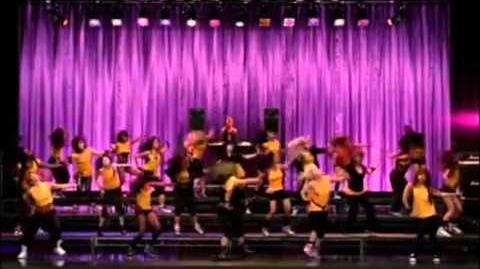 """GLEE """"Bootylicious"""" (Full Performance) From """"Hairography"""""""